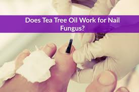 does tea tree oil work for nail fungus the healthy apron
