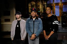snl chance the rapper sings thanksgiving song forgets adam sandler