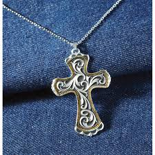 western crosses western cross necklace 213116 jewelry at sportsman s guide