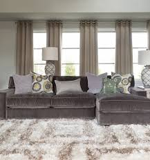 Gray Sectional Sleeper Sofa Interior Gray Couches Living Room Be Equipped With Gray Velvet