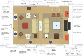 furniture layouts modern style apartment furniture layout rendered drawing room