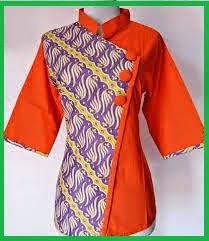 desain baju jepang new 3 model batik modern untuk wanita modis terbaru pro rahasia