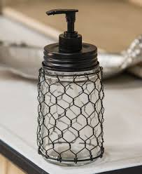 chicken wire soap dispenser craft house designs