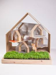 cool house designs for felines 12 cool cat houses hgtv