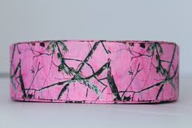 camouflage ribbon grosgrain ribbon 1 5 pink camo camouflage ribbon