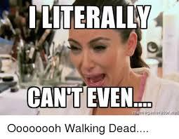 Walking Dead Meme Generator - interalw cant even memegenerator net oooooooh walking dead meme