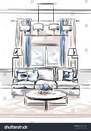 Interior Design Bedroom Drawings 100 Interior Design Furniture Sketching Bedroom Sketch