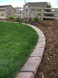 decor edging bricks flower bed borders landscape edging ideas