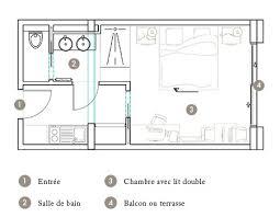 plan chambre d hotel plan chambre privilege seventeen hotel