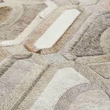 yerra trim cowhide rug patchwork rugs floor decor and interior