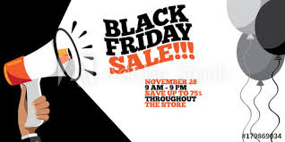 black friday sale background for the friday after thanksgiving