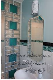 Bathroom Shower Panels by Adding Color With Shower Wall Panels And Glass Blocks