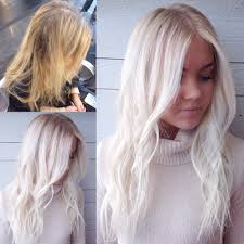 brassy partial to icy elsa blonde with soft rootiness my hair