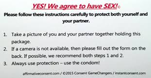 how to write a concept paper for college u to adopt affirmative consent rule for sex partners the affirmative consent project a national advocacy group distributes a consent form below that college students can sign before sex