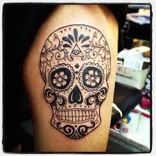 sugar skull tattoos 5 models designs quotes and ideas