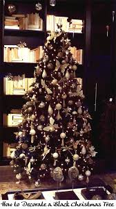 Decorating A Modern Home by Best 20 Black Christmas Trees Ideas On Pinterest Black