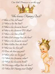 mother u0027s day baby shower ideas you will love princess baby