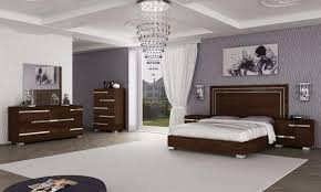 walnut bedroom furniture fame modern bedside cabinets in walnut look finish