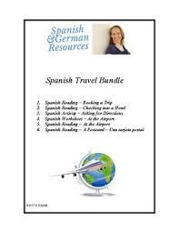 de viaje lecturas spanish travel bundle hotel aeropuerto 4