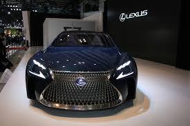lexus lf fc points to next ls at tokyo motor show by car magazine