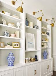 Dining Room Built In White Cabinets And Bookshelf Best Home Furniture Decoration