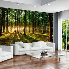 Schlafzimmer Design Tapeten Vlies Tapete Top Fototapete Wandbilder Xl 350x245 Cm Wald