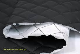 recouvrir un canap en cuir recouvrir canapé tissu meilleur de simili cuir piqués sam 191 gst3