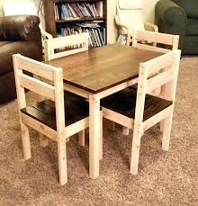 unfinished childrens table and chairs kid table chair kid table kids table and chairs do it yourself home