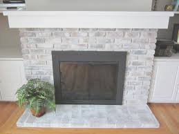 fireplace new how to tile a brick fireplace nice home design