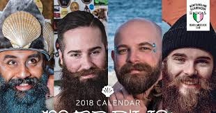 men calendar bearded men throw on their mermaid tails for the 2018 merb ys calendar