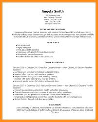 sample resume child care child care provider resume samples