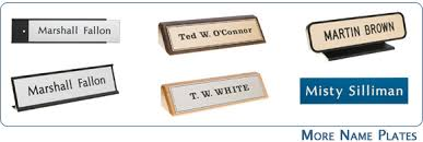 Cheap Desk Name Plates Plaques Name Plates Desk Nameplates And More