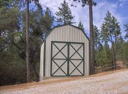 Hip Roof Barn by Gambrel Barn Steel Building