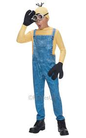 Despicable Minions Halloween Costume Minion Girls Boys Fancy Dress Despicable Kids Childrens