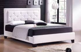 bed u0026 bath beautiful bedroom with white upholstered crystal