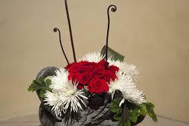 flower arranging for beginners japanese ikebana arrangements for christmas