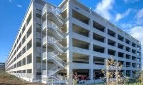 hines parking garage at walker and main downtownparking design