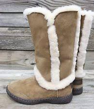 womens boots ebay australia ugg australia chestnut sheepskin womens boots ebay