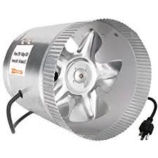 duct booster fan ipower 6 inch 240 cfm inline duct booster fan extractor exhaust and