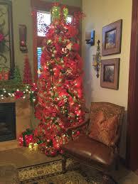 the tuscan home the living room christmas tree
