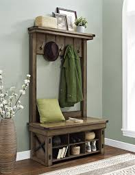 Front Hall Bench by Bench Rustic Entryway Bench With Storage In Superior Home Design