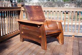 Wooden Outdoor Lounge Chairs Recling Heavy Duty Outdoor Chair