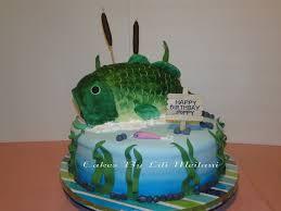 bass fish cake cake ideas fishing 33987 12 cake 2 layer cake