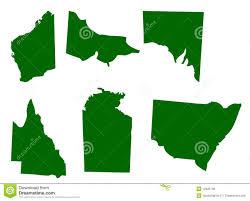 Australian States Map by Australian States Royalty Free Stock Image Image 12425136