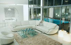 White Living Room Furniture Wonderful White Leather Living Room Insurserviceonline With Regard