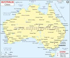 australia map of cities cities in australia map of australia cities maps of world