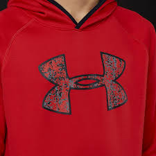 Under Armour Kids Clothes Under Armour Boys Af Big Logo Hoodie Red 1299342 601 Boys