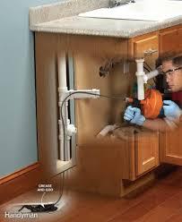 how to clean blocked sink clogged kitchen sink drain kitchen sink