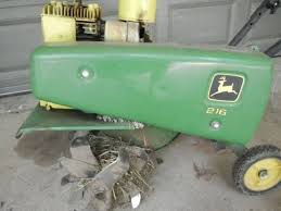 what is the best john deere 216 tiller