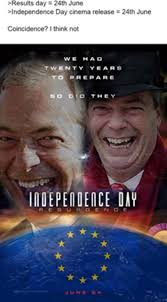 Independence Day Movie Meme - independence day united kingdom withdrawal from the european union